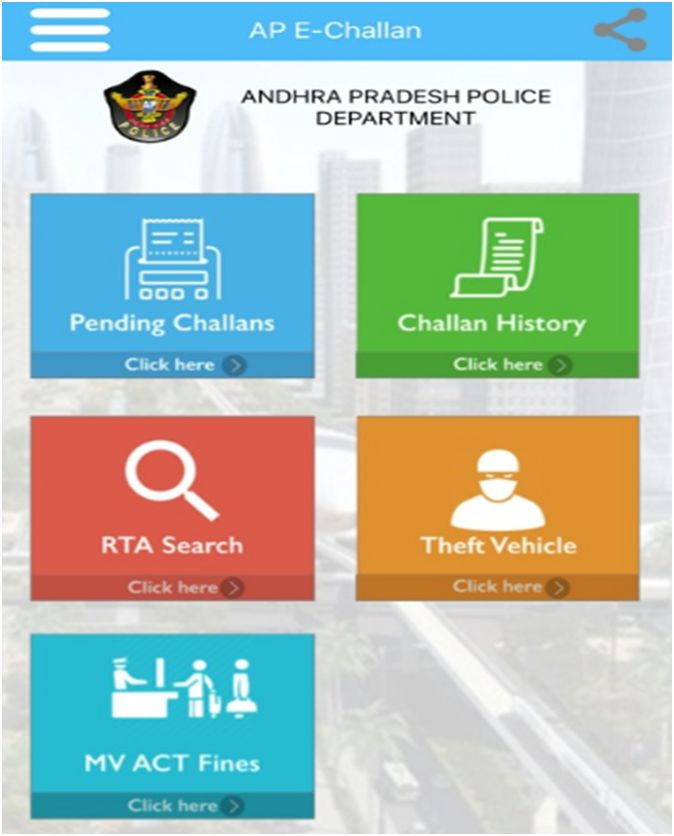 Benefits of AP E-Challan