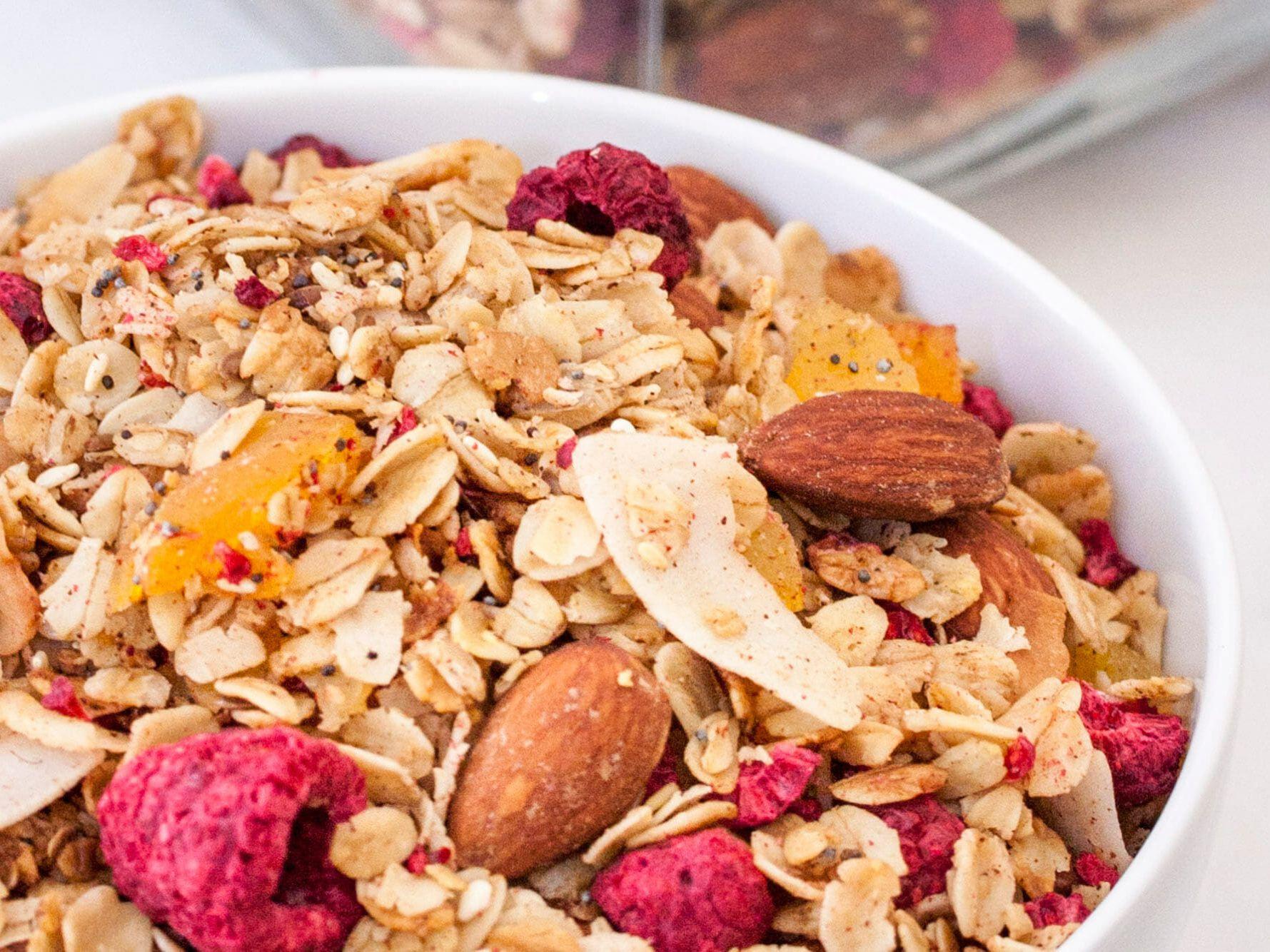 gluten-free vegan granola